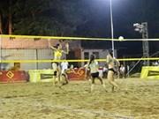 Ouverture du tournoi d'Asie de beach-volley féminin 2019 à Can Tho