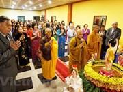 Des Vietnamiens en République tchèque fêtent le Vesak