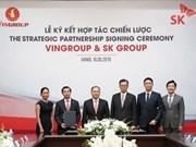 Un géant groupe sud-coréen investit un milliard de dollars au Vingroup