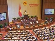 Ouverture de la 7e session de l'Assemblée nationale de la XIVe législature