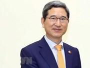Un parlementaire sud-coréen à l'honneur