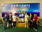 Le Vietnam remporte deux médailles d'or en kourach en Thaïlande