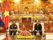Hanoi et Phnom Penh promeuvent leur coopération