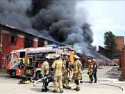Le Centre commercial Dông Xuân à Berlin reprend ses activités après l'incendie