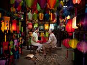 """Des lanternes de Hoi An """"illuminent"""" la page d'accueil de Google"""