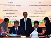 Ho Chi Minh-Ville et le Royaume-Uni coopèrent dans l'édification d'une ville intelligente