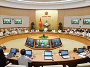 Gouvernement : réunion thématique sur l'élaboration juridique