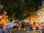 Dans la rue Hàng  Ma, plongée au cœur de la Fête de la lune