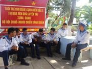 La vie quotidienne des soldats au district insulaire de Truong Sa