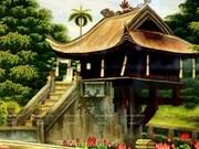 Le village de broderie de Quat Dong