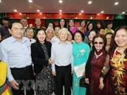 Nguyen Phu Trong à la Fête de grande union nationale à Hanoï