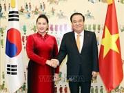 Entretien Nguyen Thi Kim Ngan - Moon Hee-sang