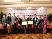 Des établissements vietnamiens honorés par le JICA