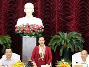 La présidente de l'AN Nguyen Thi Kim Ngan se rend à Binh Thuân