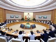 Réunion périodique du gouvernement sur la situation économique en trois mois
