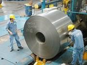 Les exportations nationales de l'acier et du fer en premier trimestre