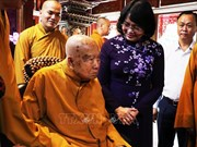 La vice-présidente félicite les bouddhistes de Dong Nai