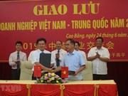 Cao Bang promeut la coopération dans le développement de l'économie frontalière