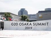 Ouverture du Sommet du G20 à Osaka au Japon