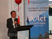 Commerce: les entreprises vietnamiennes et australiennes renforcent leur coopération