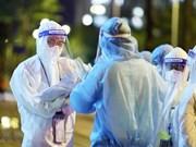 """Des """"soldats"""" en blouses blanches sur le front de la lutte contre l'épidémie de COVID-19"""