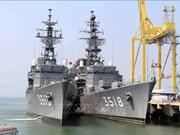 Deux navires japonais en visite de courtoisie à Da Nang