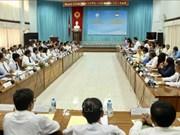 Des localités vietnamienne et cambodgienne s'unissent pour construire une frontière de paix