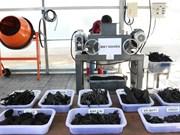 Une technologie japonaise de traitement de déchets organiques introduite à Hô Chi Minh-Ville