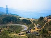 Changement de la physionomie de Pha Din: Route principale pendant la campagne de Diên Biên Phu