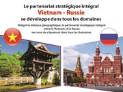 Le partenariat stratégique intégral Vietnam – Russie se développe dans tous les domaines