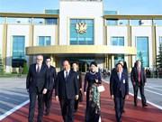 Le Premier ministre termine sa visite officielle en Russie