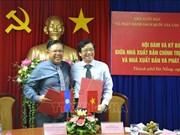 Plus de livres politiques du Vietnam traduits en laotien
