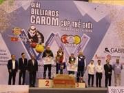 Coupe du monde de billard de carom trois bandes 2019 à HCM-V: la Belgique sacrée championne