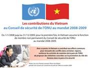 Les contributions vietnamiennes au Conseil de sécurité de l'ONU au mandat 2008-2009
