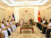 Les marines vietnamienne et thaïlandaise renforcent leur coopération