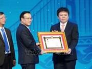 LaoVietBank s'est vue décerner l'Ordre du travail de première classe du Laos