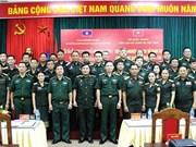 Formation en histoire militaire pour des officiers de l'armée populaire du Laos