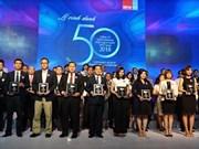 Le Top 50 entreprises les plus rentables du Vietnam à l'honneur