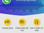 Quang Ninh, pilote de l'interaction citoyenne via une application mobile