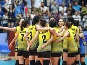 Le Vietnam arrive en 3e au tournoi U23 de volley-ball féminin d'Asie - Coupe Dông Luc 2019