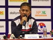L'U18 du Vietnam prête pour le Championnat U18 d'Asie du Sud-Est