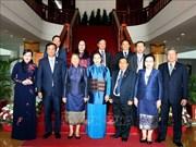La présidente de l'Assemblée nationale Nguyên Thi Kim Ngân en visite au Laos
