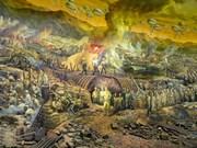 Un tableau panoramique fait revivre la bataille de Diên Biên Phu