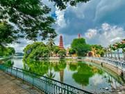 Les vestiges historiques de Hanoi désertés lors des jours de la distanciation sociale