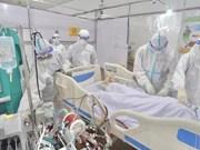 Hôpital de campagne de traitement des patients de Covid-19 de Hanoi