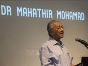 Le Premier ministre malaisien discute avec un parti d'opposition