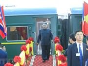 La presse internationale couvre intensément la visite du leader nord-coréen au Vietnam