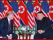 KCNA: les dirigeants nord-coréen et américain échangent des opinions sincères et profondes