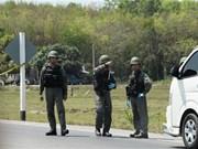 La police thaïlandaise arrête un suspect lié à des attentats à la bombe