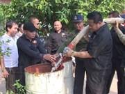 Sécheresse: le Cambodge demande l'aide de la Thaïlande